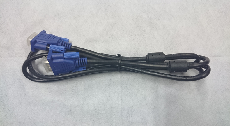 VGA Monitor Cable Male to Male  15 Pin    6ft